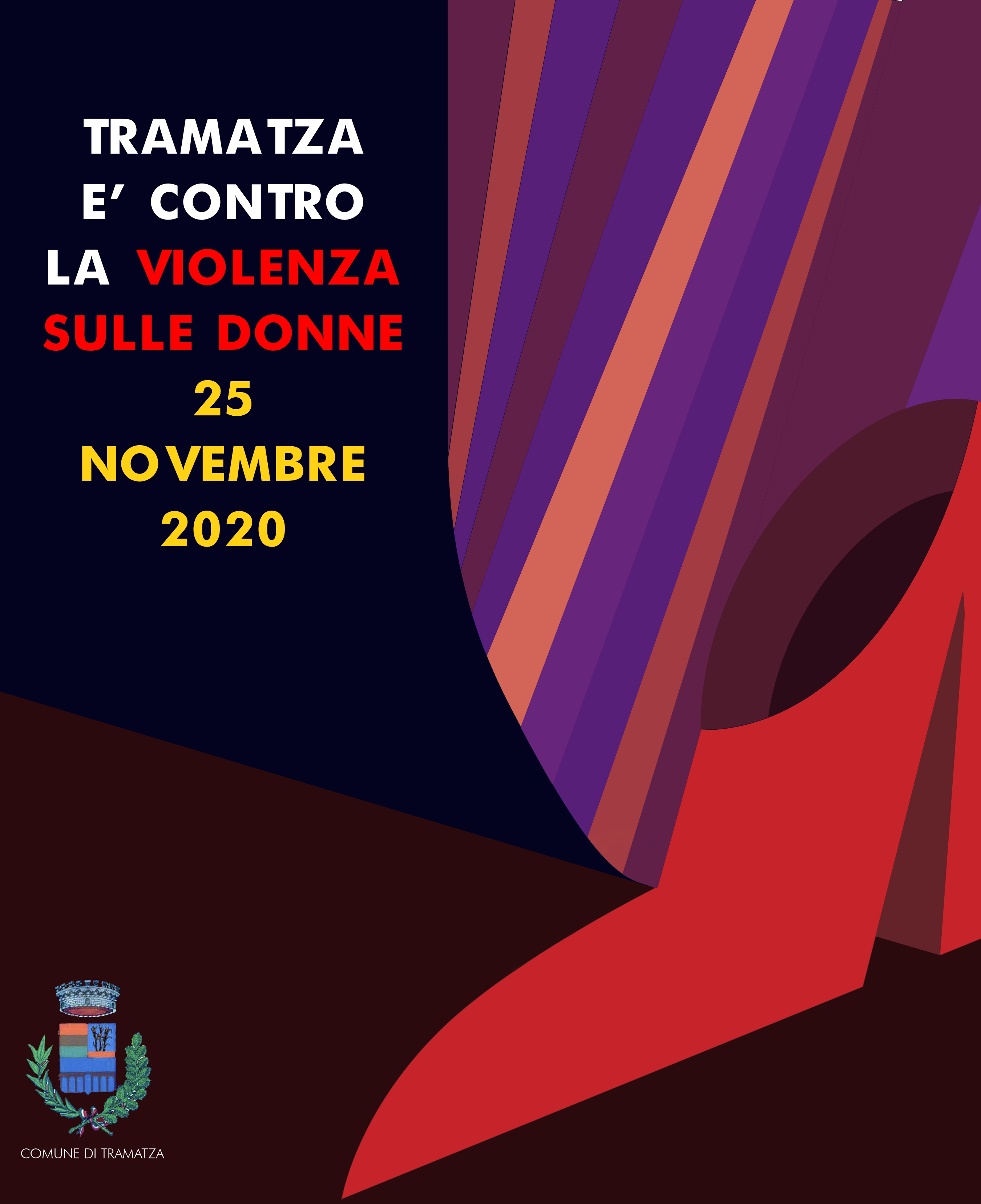 25 novembre 2020 - Giornata mondiale contro la violenza alle donne